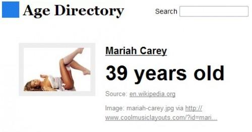 age-directory-mariah-carey