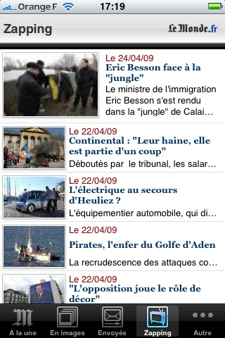 le monde 15 applications gratuites et indispensables pour l'iPhone