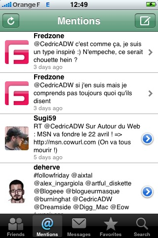 twitterfon 15 applications gratuites et indispensables pour l'iPhone
