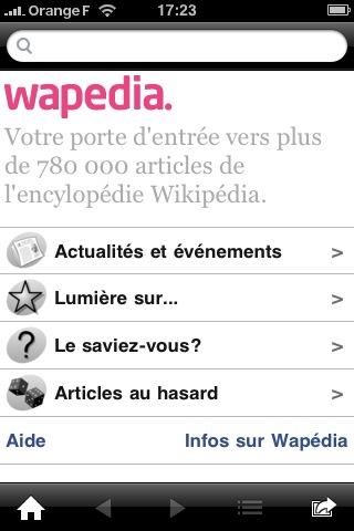 wapedia 15 applications gratuites et indispensables pour l'iPhone