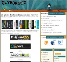 20 galeries de sites olybop 220x205 BlOg'X Office #6 : petit medley du Web