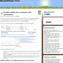 google-insight-wordpress-tuto