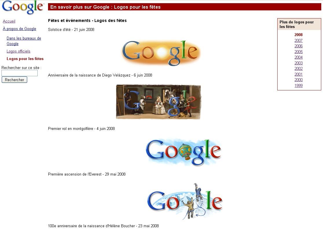 t233l233chargez gratuitement les logos google de 1999 224 2008
