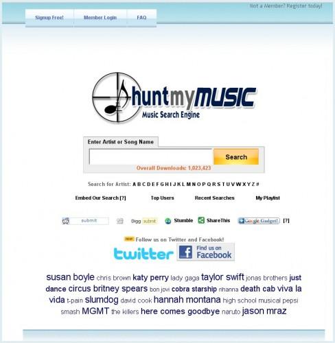 huntmymusic
