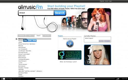 Allmusic fm