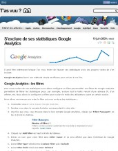 Exclure statistiques Google