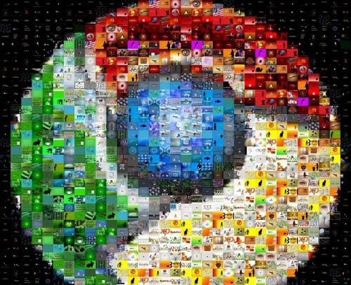 Google Chrome Photo Mosaic 500x407 15 fonds décran Google Chrome