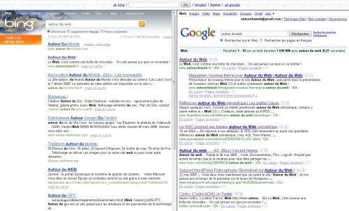 bingle recherche 500x303 Google + Bing = Bingle !