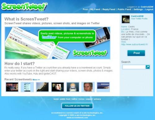 screentweet