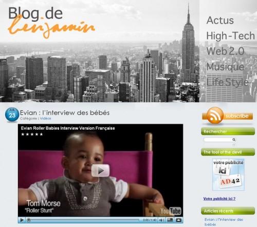 Blog de benjamin
