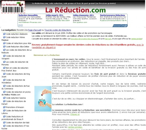 La reduction
