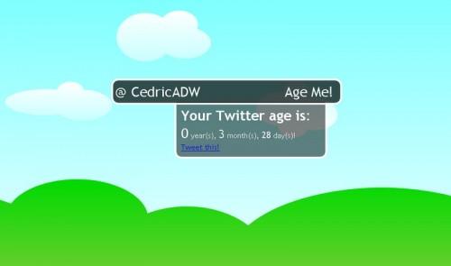 TweetYears CedricADW