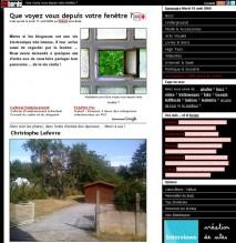 Fenetre blogueur