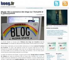 Puissance blogs referencement