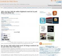 Top 100 wikio hightech