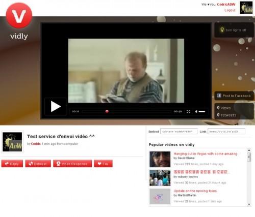 Vidly video