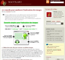 Conseils indexation images