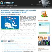 Parametrer gmail
