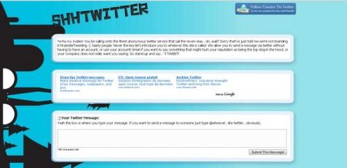 Shhtwitter