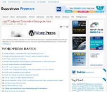 Wordpress tutoriels