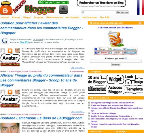 Leblogger