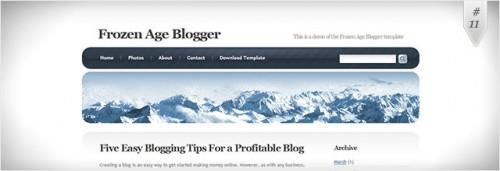 frozen-age-theme-blogger