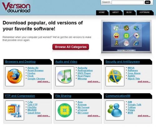 version-download