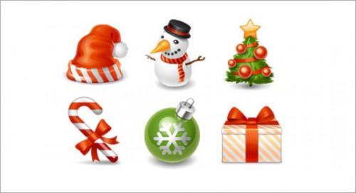 250 Icônes De Noël à Télécharger Gratuitement Autour Du Web