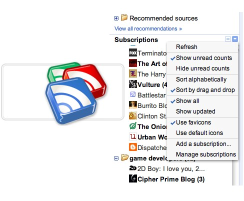 google reader 11 alternatives à Google Reader