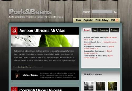 Pork-beans-free-premium-wordpress-theme