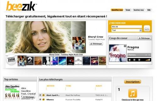 beezik 500x321 15 astuces pour télécharger de la musique gratuitement et légalement