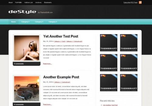 de-style-free-premium-wordpress-theme