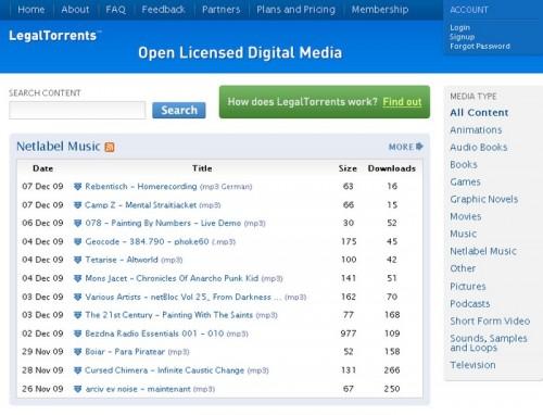 legaltorrents 500x382 15 astuces pour télécharger de la musique gratuitement et légalement