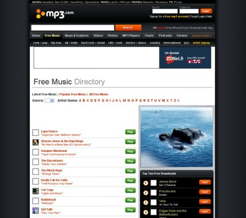 15 astuces pour t l charger de la musique gratuitement et l galement autour du web - Telecharger logiciel couper mp3 ...