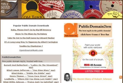 public domain 4u 500x335 15 astuces pour télécharger de la musique gratuitement et légalement