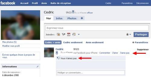 facebook aime pas Comment dire «J'aime pas» sur Facebook