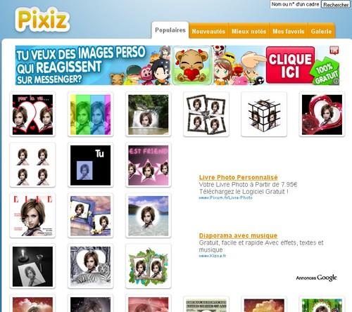 pixiz 31 sites gratuits de montages photo