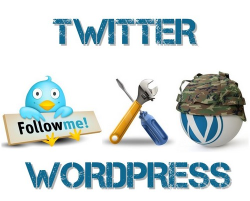 twitter facebook 6 plugins WordPress pour Twitter