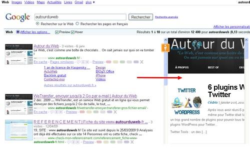 google results walker 8 Add ons Firefox pour améliorer vos recherches sur Google
