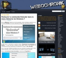 restaurer commande executer windows 7