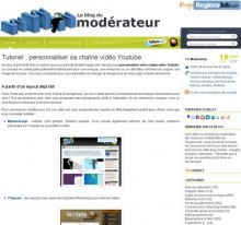 tutoriel personnaliser youtube