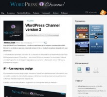 wordpress channel