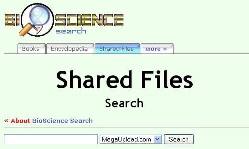 bioscience MegaUpload : 15 moteurs de recherche pour trouver des liens