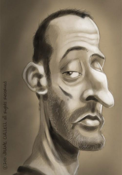 caricature leon