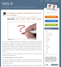 questions organiser concours
