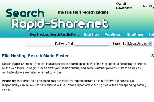 search rapid share