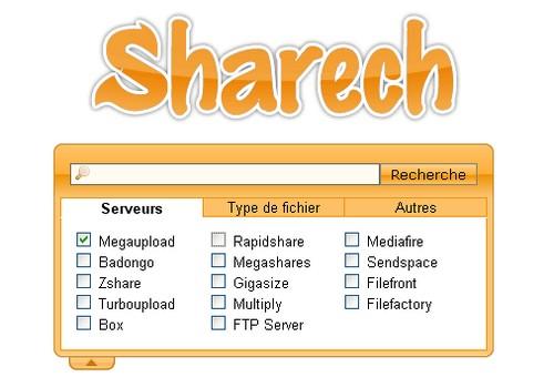 sharech MegaUpload : 15 moteurs de recherche pour trouver des liens