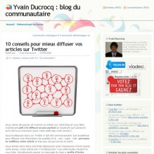 conseils diffuser twitter