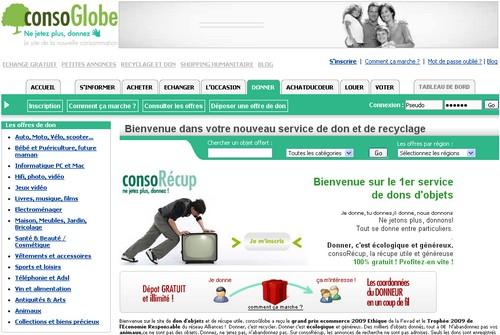 consoglobe 10 sites pour donner ou récupérer des objets gratuitement