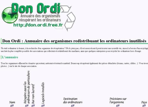 don ordi 10 sites pour donner ou récupérer des objets gratuitement